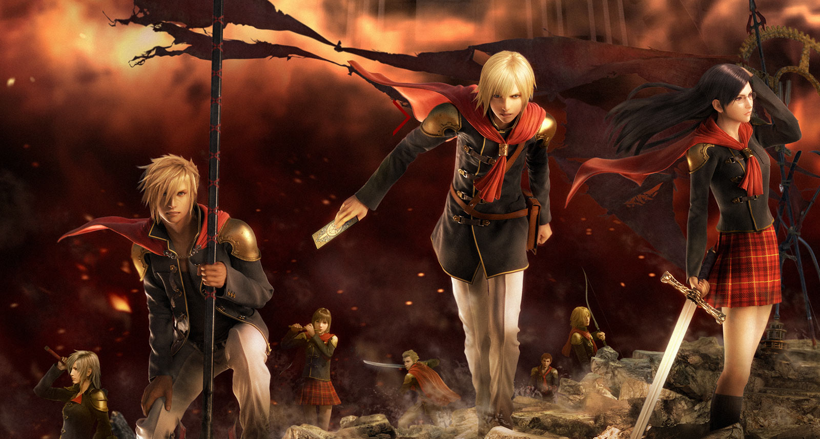 Final Fantasy Type-0 HD is available on PlayStation 4 and Xbox One. A ...