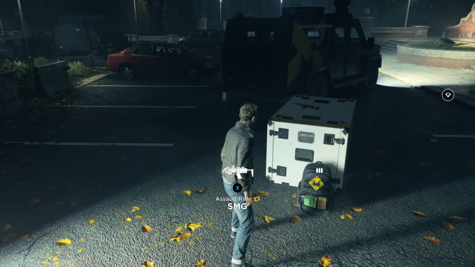 quantum break clear the yard how to get past car
