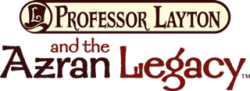 Professor Layton and the Azran Legacy — Logo (UK).png