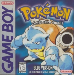 Pokémon Blue - Boxart