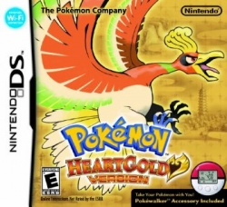 Pokemon Heart Gold - English boxart