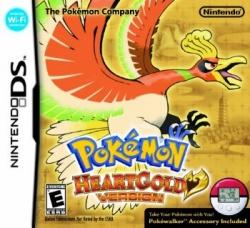 Pokemon Heart Gold - English boxart