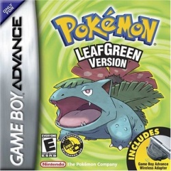 Pokemon LeafGreen - boxart