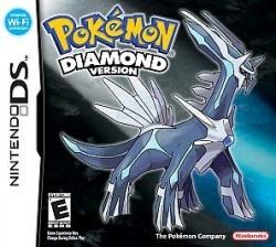 Pokemon Diamond - boxart