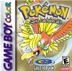 Pokémon Gold - boxart