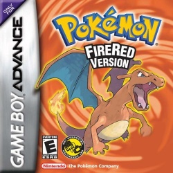 Pokémon FireRed - boxart