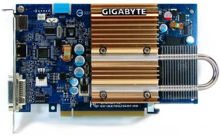 NEW DRIVERS: GIGABYTE 7600GS