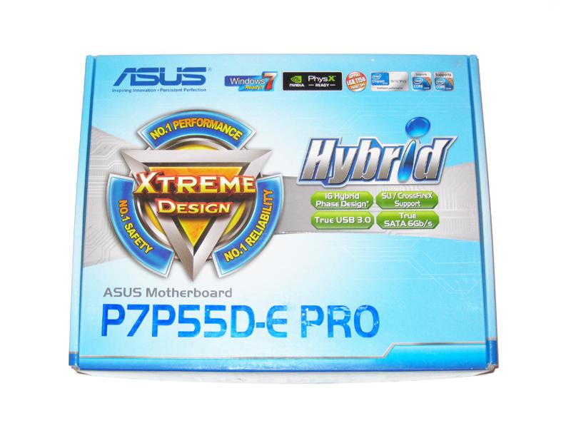 Closer Look  Asus P7p55d-e Pro - Intel Lga 1156 Motherboard 6-way Roundup