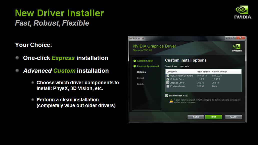 NVIDIA GeForce GTS 450 Review - Page 2 - NVIDIA R260 drivers