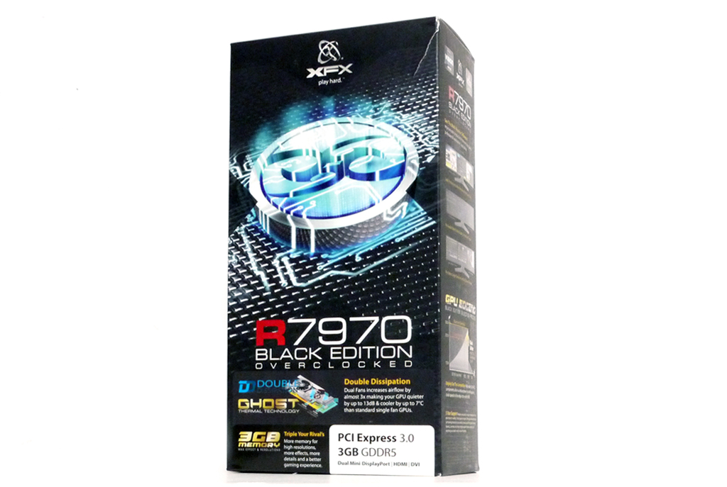 XFX R7970 Black Edition Review - Page 2 - Unboxing & Closer Look