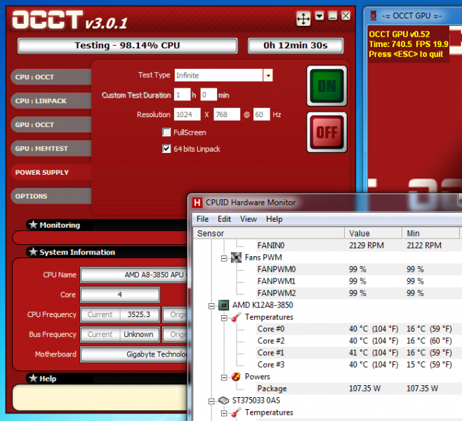 AMD A8-3850