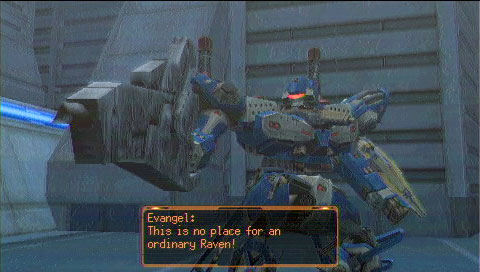 Armored Core Last Raven Psp Review Back In The Fight