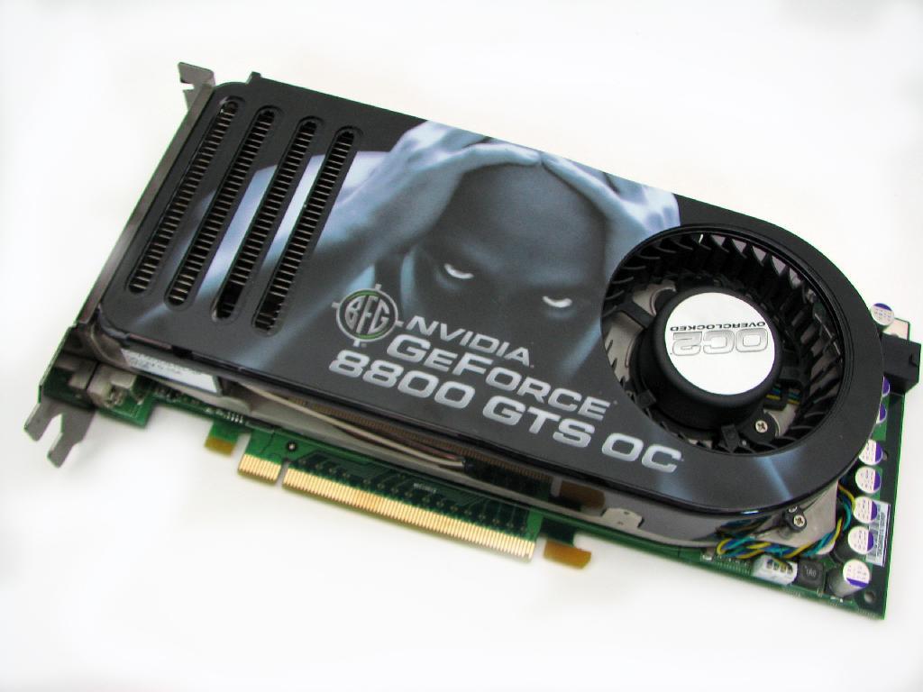 BFG 8800 GTS OC2 640 MB Review