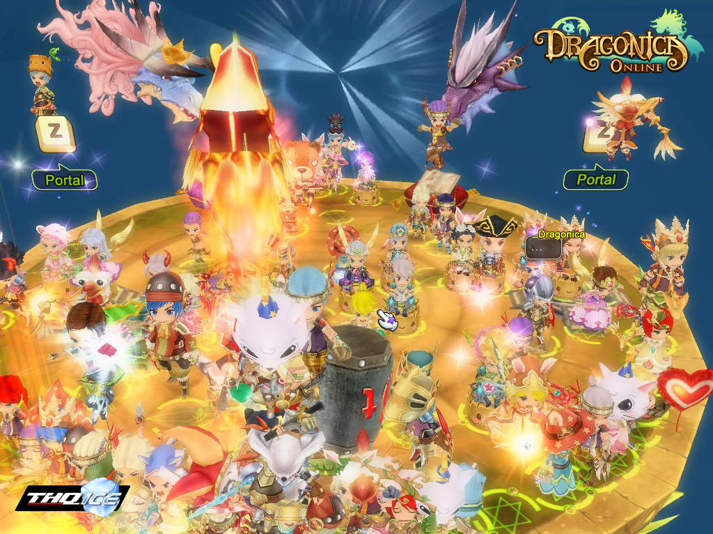 Dragonica Online: Side Scroller Showdown (PC ) Promotion - Your Free