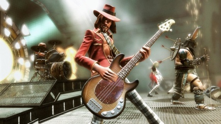 The Game On 360 Is Hard To Knock It Feels Like A Polished Title From Activision Hoping Convert Some Of Rock Band Gamers Over While Franchise