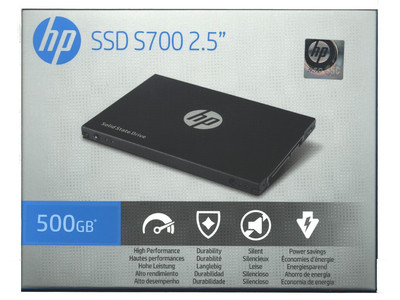 HP SSD S700 500GB Review - Introduction & Closer Look