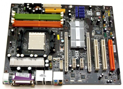 MSI K9N SLI Platinum nVidia SATA RAID Linux