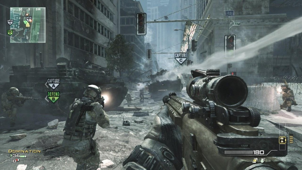Call Of Duty Modern Warfare 3 Ps3 Review Back In The Saddle