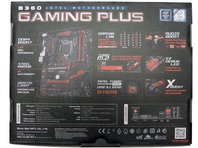 MSI B360 Gaming Plus Motherboard Review - MSI B360 Gaming Plus
