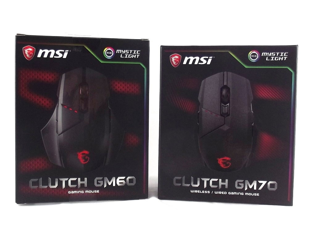 4bc9b8b2331 MSI Clutch GM60 & GM70 Gaming Mice Review - Introduction & Packaging