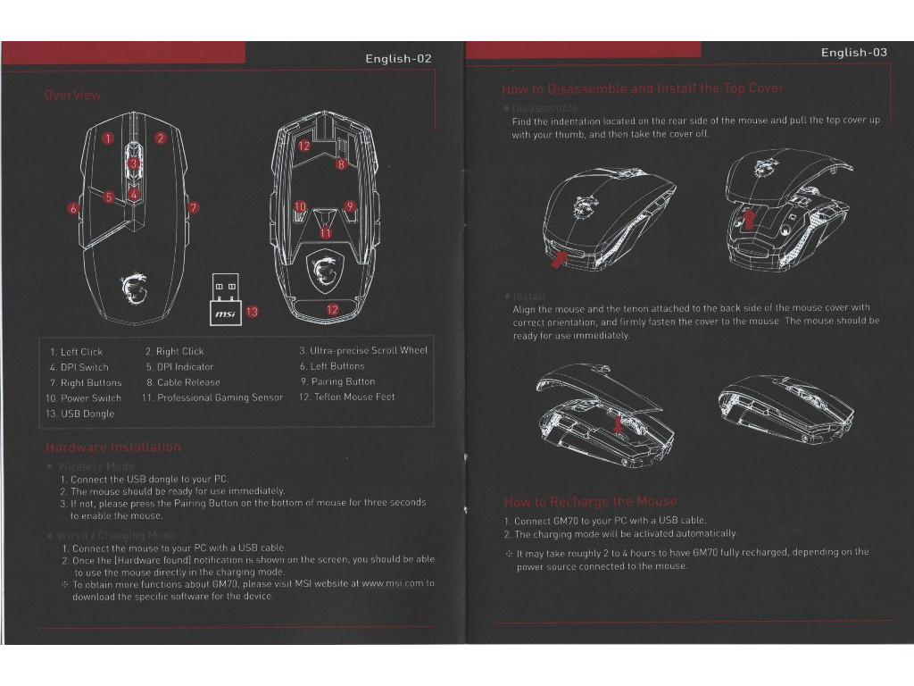 MSI Clutch GM60 & GM70 Gaming Mice Review - Introduction & Packaging
