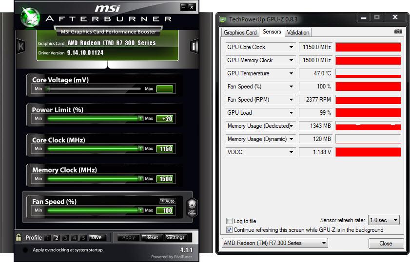 MSI R7 370 GAMING 2G Review - Page 4 - MSI R7 370 GAMING 2G: Setup