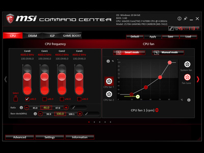 test msi x470 gaming pro carbon