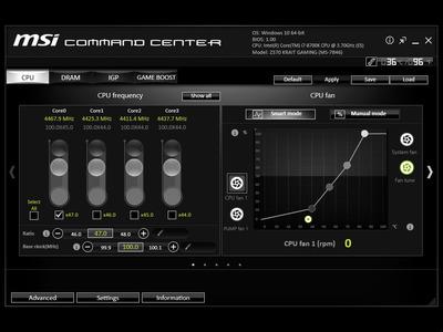 MSI Z370 Krait Gaming: Utilities, Setup & Overclocking - MSI