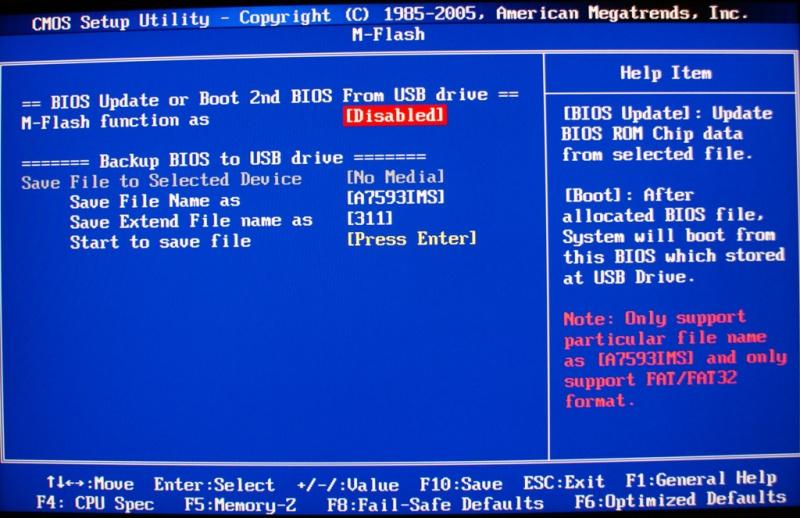 MSI X58M Review - Page 4 - More BIOS