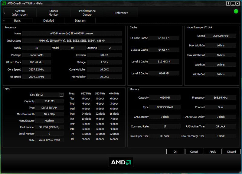 Amd Overdrive 3 0 Amd Phenom Ii X4 955 Black Edition Review Page 2