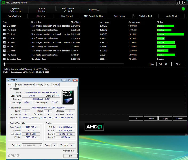 AMD Phenom II X4 965 Black Edition CPU Review - Another 200MHz