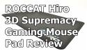ROCCAT Hiro Gaming Mouse Pad Review