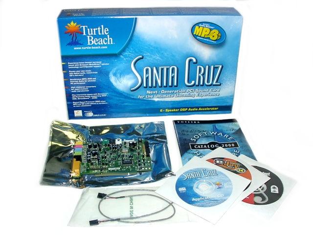 TURTLE BEACH SANTA CRUZ VIDEOLOGIC SONICFURY AUDIO ...