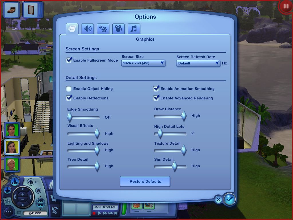 The Sims 3 Graphics Performance Guide - Introduction