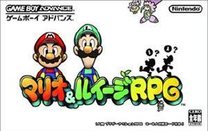 Mario Luigi Superstar Saga Gba Front Cover