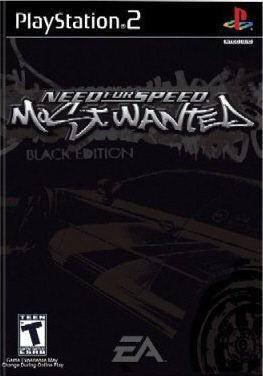 Need For Speed Most Wanted Black Edition Ps2 Front Cover