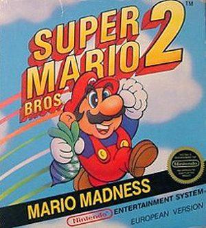 Super Mario Bros 2 Nes Front Cover