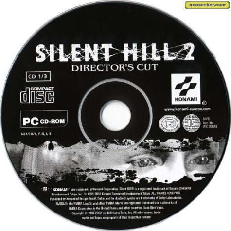Silent Hill 2 Pc Media Cover