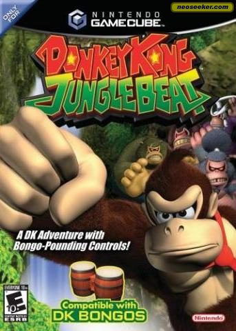 Donkey Kong: Jungle Beat - GC - NTSC-U (North America)