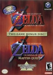 Box shot of The Legend of Zelda: The Ocarina of Time Master Quest [North America]