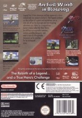 The Legend of Zelda: The Wind Waker PAL (Europe) back cover box shot