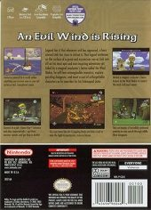 The Legend of Zelda: The Wind Waker NTSC-U (North America) back cover box shot