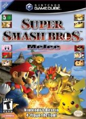 Box shot of Super Smash Bros. Melee [North America]