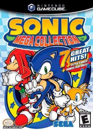 Sonic Mega Collection - GC - NTSC-U (North America)