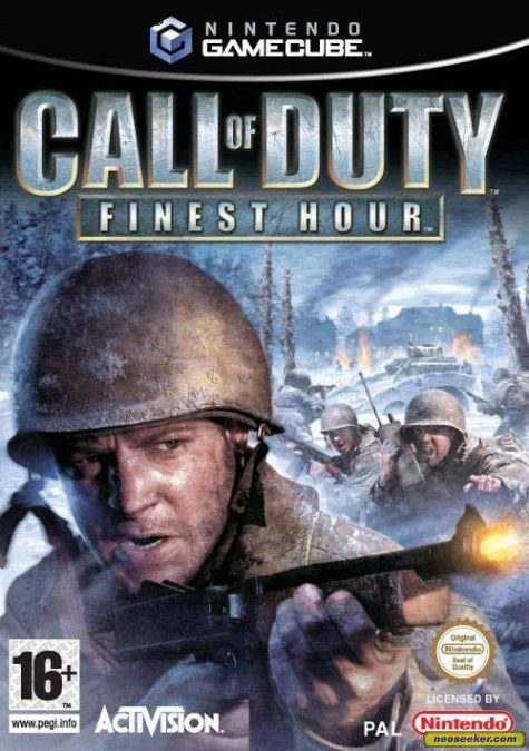 call of duty 8 cover. Call of Duty: Finest Hour - GC