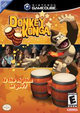 Box shot of Donkey Konga [North America]