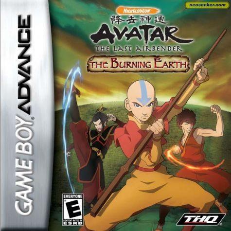Avatar: The Burning Earth - GBA - NTSC-U (North America)