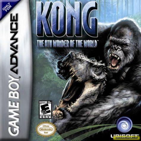 Kong: The 8th Wonder of the World - GBA - NTSC-U (North America)