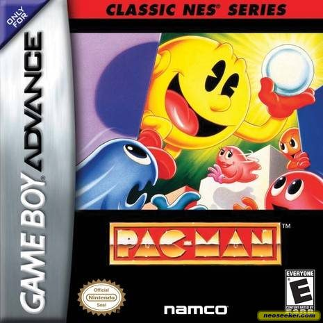 Classic NES Series: Pac-Man - GBA - NTSC-U (North America)