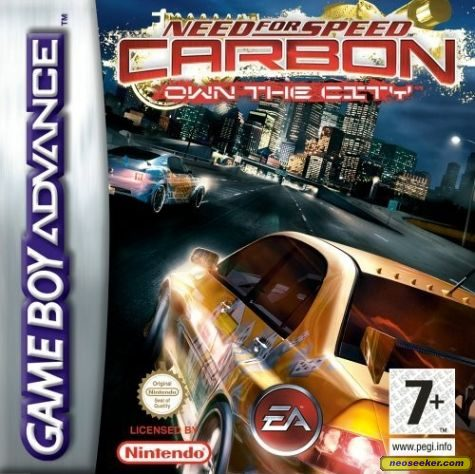 Need for Speed Carbon: Own the City - Front cover